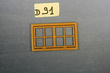 (D91)playmobil fenêtre château 3666 3442 3445 3447 3441 3448 3455 3688 3665 3450