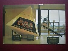 POSTCARD J F KENNEDY SPACE CENTER - FULL SIZE MODEL APOLLO COMMAND MODULE