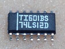 4 pcs. 74LS12D  74LS12  Texas  NAND-Gatter 3-fach 3 Eingänge SOIC14  NOS
