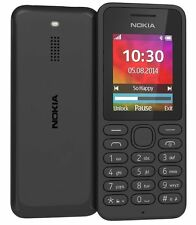 Brand New Nokia 130 - Black (Unlocked) Mobile Phone Sim Free
