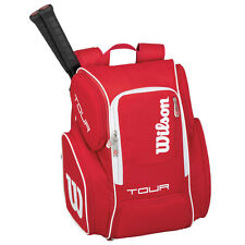 WILSON V TOUR RED  LARGE TENNIS BACKPACK  2016 , IDEAL FOR TRAVEL GYM , PADEL