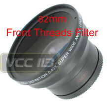 58mm Wide Angle Lens .43x for Canon Rebel T3i T3 60Da SL1 60D XT XTi XS XSi T4i