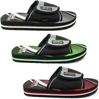 MENS URBAN BEACH FLIP FLOPS SANDALS SIZE UK 6 - 11 MULE POOL PINE ISLAND FW519