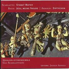 CD Scarlatti Stabat Mater, Bach Jesu meine Freude, Jochen Arnold Diptychon