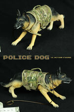 "WUA 1/6 SCALE military model SWAT Police Dog For 12"" ACTION FIGURE  hobbies Toy"