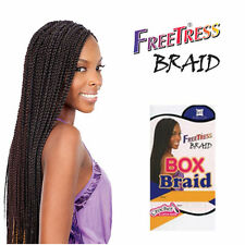 7 FreeTress Medium Box Braids Shake-N-Go Crochet Latch Hook Braiding Hair