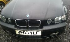 BMW 316ti SE COMPACT E46 FACELIFT 2003 1.8 N42 ENGINE O/S ALL PARTS N/S LEFT
