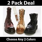 --2 PACK!--TUFF TOE Polyurethane Work Boot Protector Guard-All Colors!