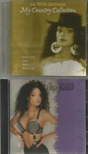 LA TOYA JACKSON You're Gonna Get Rocked + MY COUNTRY COLLECTION 2 CD's LATOYA