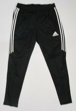 Men's Adidas Tiro 17 Training Pants, New Black Climacool Soccer Sweat Pant Sz M