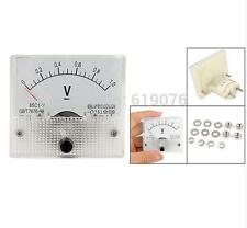 DC 0-1V Analog Voltmeter Panel Voltage Meter 85C1 1V DC Directly Connect No need