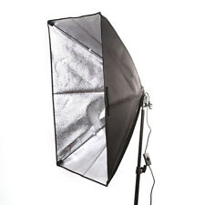 "50x70cm 20""x28"" Photography Studio Light Softbox + 1 E27 Steckdose Birne Kopf"