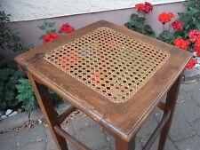Jugendstil Sitzhocker Sitzhilfe Bügelstuhl um 1910 Geflecht Stehstuhl Stehhilfe