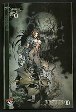 Witchblade 10 (Lot of 2) Reg. & The Darkness #0 Variant 1st Darkness SIGNED