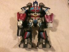 hasbro optimus prime action figure 11 inch  with handle requires 3 aa batteries