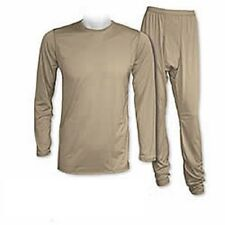 US Army ECWCS GEN III Level 1 Polartec Underwear Set Tan499 Coyote Small Short