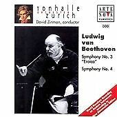 David Zinman : Beethoven: Symphonies Nos. 3 & 4 CD (2003)