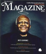 Times Mag: Desmond Tutu Exclusive Interview On Blair, Mandella's Funeral & UKIP