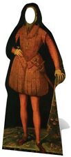 Tudor Man Stand In Cardboard Cutout Prop Historical Theme Great for Schools