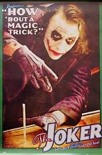 BATMAN-THE JOKER-How About A Magic Trick-Licensed POSTER-90cm x 60cm-Brand New