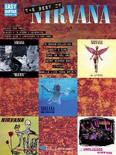 Nirvana The Best Of Learn to Play Pop Rock EASY Guitar TAB Music Book