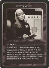 """Doctor Who MMG CCG - Resource """"T-Mat"""" Card"""