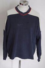 NIKE M vintage maglia felpa sweatshirt plush A1224