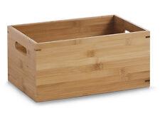 Aufbewahrungskiste Allzweckkiste Holzkiste Kiste Box Aufbewahrungsbox Bambus