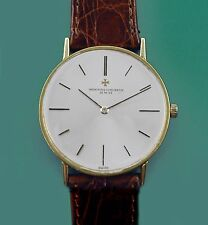 Vintage 60s 18k Yellow Gold Vacheron Constantin Very Thin Caliber 1003 Ref 6820