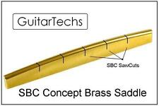 GuitarTechs SBC Concept BRASS SADDLE for Acoustic Guitar