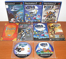 SLY Trilogy (Raccoon-Cooper, 2 & 3 ) PlayStation 2 PS2 PStwo, Pal-España NUEVO**