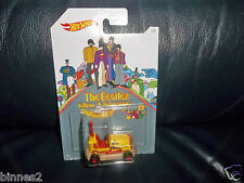 "THE BEATLES YELLOW SUBMARINE ""HOT WHEELS"" MODEL CAR ""BUMP AROUND"" BRAND NEW"