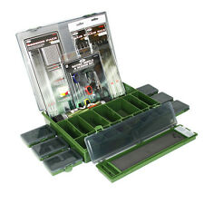 NEW NGT TACKLE BOX A SESSION PACK HAIR RIGS NEEDLE SET 7m PVA CARP FISHING  SALE