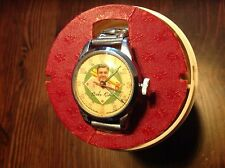 1948 BABE RUTH Wristwatch With Original Plastic Case - WORKS!!
