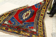 Exclusive Cr1939s Mutli-Colored Turkish Tribal Wool Area Carpet 4x8ft Turkey