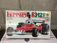 TAMIYA Ferrari 312T MODEL KIT 1/12 IDENTICAL SCALE BIG SCALE SEALED  RARE