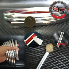 SELF ADHESIVE CHROME STYLING STRIP CAR VAN 4x4 0.9cm / 9mm x 2m