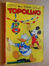 Topolino Libretto n°115 anno 1955 con BOLLINO [G350] - BUONO -