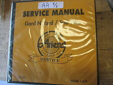 Used 1 Binder of 14 Ariens Service / Repair Manuals, See Details of Pics
