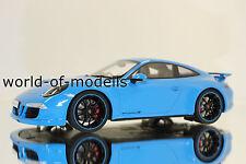 GT Spirit GT085  Porsche 911 Typ 991  4S  2011 hellblau 1:18