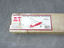 2T .049  R/C Foamwing Trainer Airplane Model Kit Ron Jacobsen Ace R/C vintage