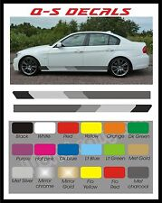 Car Side Stripe Decals Graphics Stickers BG237 Any Colour both sides