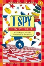 Scholastic Reader Level 1: I Spy Funny Teeth by Jean Marzollo (2003, Paperback)
