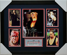 THE UNDERTAKER 5 PHOTOS LIMITED EDITION MEMORABILIA