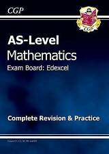 AS-Level Maths Edexcel Complete Revision & Practice by CGP Books