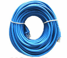 25ft 25 ft Cat6 Cat 6 Ethernet Blue Patch Lan Network Cable