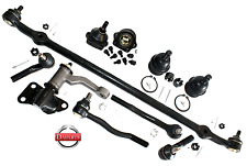 Pickup 2WD New Front Suspension Center Link Tie Rods Ends Idler Arm Ball Joints