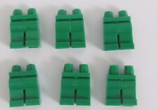 Lego 6  Leg  Legs Lower Parts For Minifigures Green