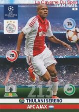 032 THULANI SERERO AFC.AJAX CARD CHAMPIONS LEAGUE ADRENALYN 2015 PANINI