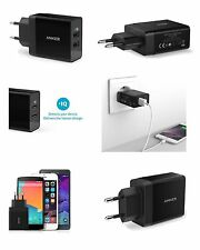 Anker Genuino 2 puertos USB UE 2 pin pared viaje cargador adaptador iPhone Samsung